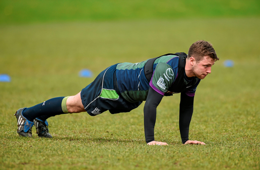 Jack Carthy in training at the Sportsground. Photo: Sportsfile