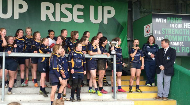 'Ballinasloe took the honours in the U-15 final producing an excellent display to win 52-12'