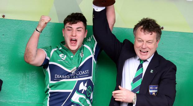 Ballina celebrate their U-18 Cup success