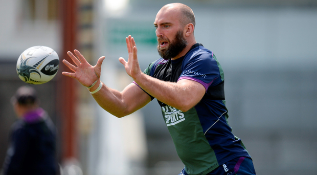 John Muldoon is stressing the importance of treating this week like any other (SPORTSFILE)