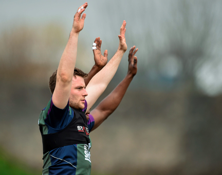 Jack Carty has had some off-field setbacks but is looking to get back on track. SPORTSFILE