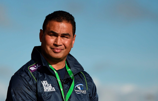 Connacht coach Pat Lam said he appreciated the call made by the referee as the heavens opened and the pitch flooded. Photo: Sportsfile