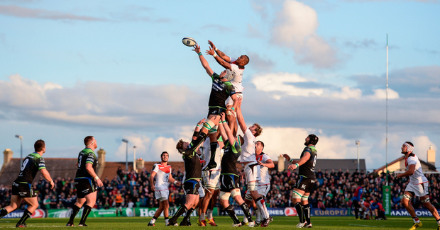 Connacht coach Pat Lam has added to his challenge in Europe with the renewed contract of Ultan Dillane. SPORTSFILE