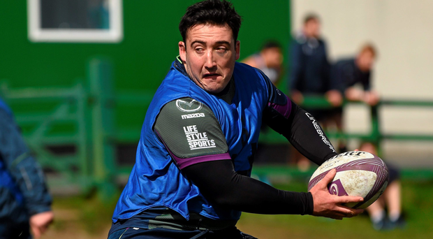 Buckley returned to training and is ready to take his place after injury. Photo: Sportsfile