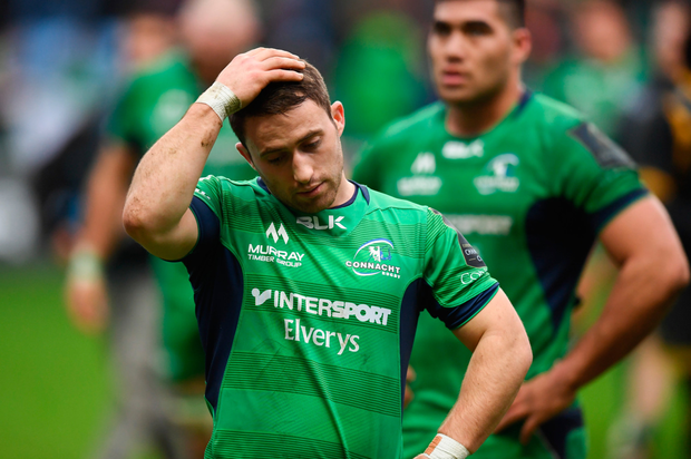 Caolin Blade of Connacht following the European Rugby Champions Cup Pool 2 Round 3 match between Wasps and Connacht at the Ricoh Arena in Coventry, England. Photo by Stephen McCarthy/Sportsfile