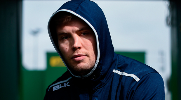 James Cannon is enjoying his time out west and aims to fight for his place on the starting XV. Photo: SPORTSFILE