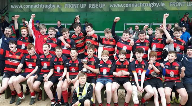 Monivea's U-14s side that won last year's Cup