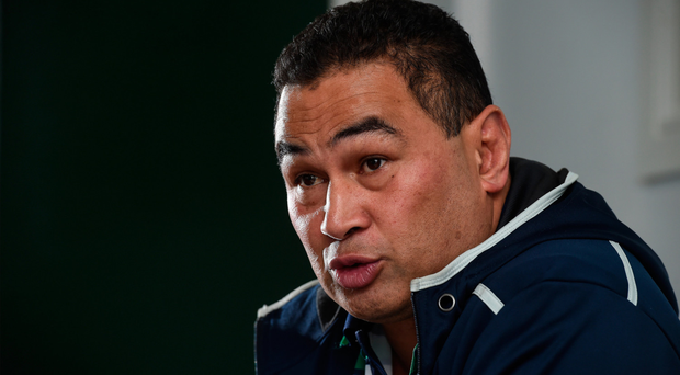 Pat Lam speaking to the media this week Picture: Sportsfile