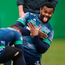 Naulia Dawai is all smiles during training at the Sportsground.
