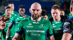 Connacht captain John Muldoon