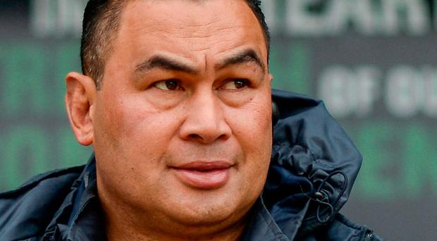 Connacht head coach Pat Lam. Photo: Sportsfile