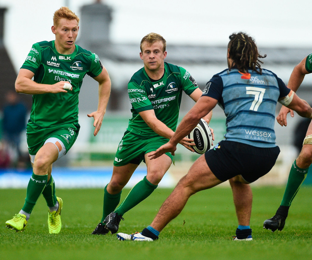 Andrew Deegan got 80 minutes for Connacht against Cardiff at The Sportsground last weekend DIARMUID GREENE/SPORTSFILE