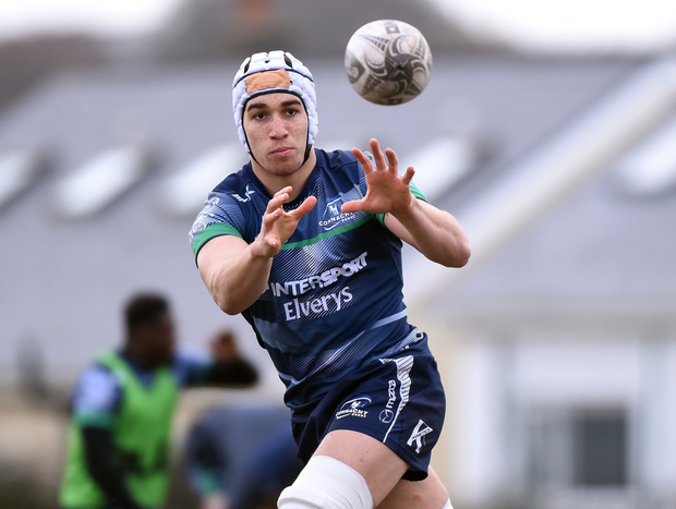 Ultan Dillane of Connacht during squad training at the Sportsground