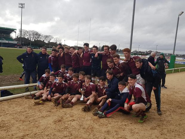 Pres Athenry following their recent Connacht Senior Emerging Cup triumph over Enniscrone