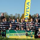 Players from Ballina Killaloe RFC at the Aviva Mini Rugby Festival hosted by UL Bohemian RFC, Limerick, last week. Picture: INPHO