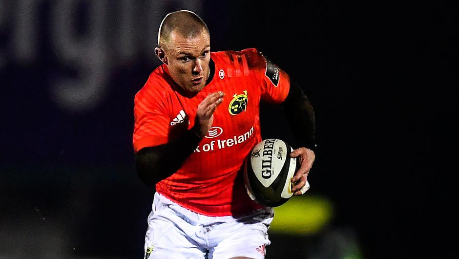 Keith Earls has signed a one-year IRFU deal. Photo by David Fitzgerald/Sportsfile