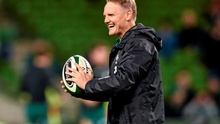 In this World Cup year, Ireland head coach Joe Schmidt is in a uniquely powerful position with plenty of room for manoeuvre. Ramsey Cardy / SPORTSFILE