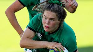 'Outrageous': Beibhinn Parsons inspired Ireland to victory over Italy. Photo: Sportsfile