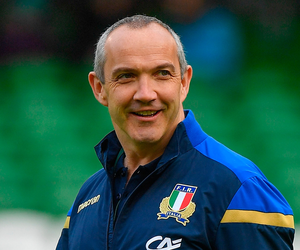 Making progress: Conor O'Shea. Photo: Sportsfile