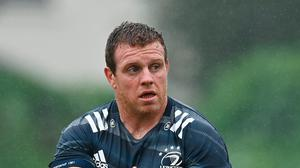 Seán Cronin during Leinster Rugby squad training