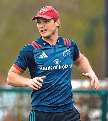 The former Crusader was tipped to play for Ireland when Munster confirmed they'd secured his services. Photo: Sportsfile