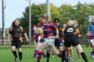 Clontarf players in action