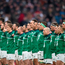 Rory Best and his team-mates belt out 'Ireland's Call'