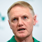 Joe Schmidt is making full use of his resources by changing a third of his starting team Picture: Sportsfile