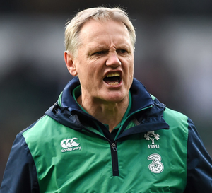 Ireland head coach Joe Schmidt. Photo: Getty Images