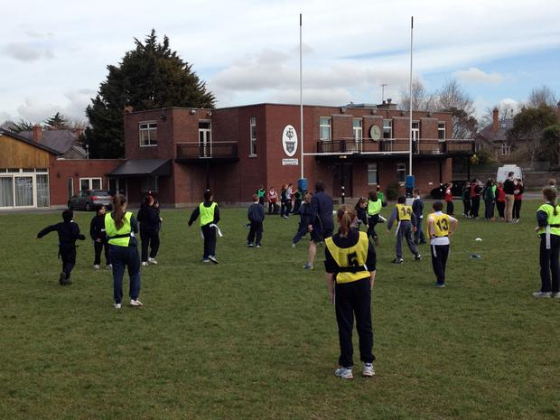 On Wednesday last week Wanderers RFC hosted a very successful primary school blitz