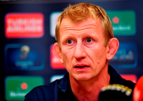 Leo Cullen admits he has a difficult job ahead of him as Leinster head coach