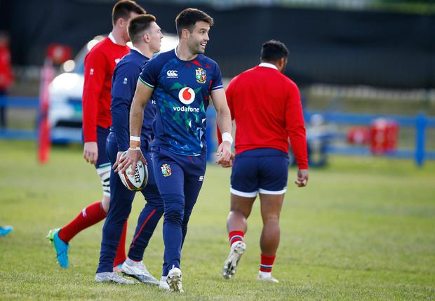 Conor Murray will start the first Test on the bench. Photo credit: Steve Haag/PA Wire