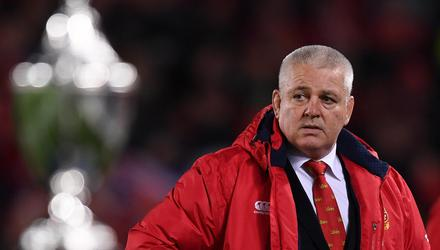 Lions head coach Warren Gatland has made some big selection calls in his squad for South Africa. Image credit: Sportsfile.