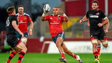 Simon Zebo says that performing for Munster is his main focus at the moment