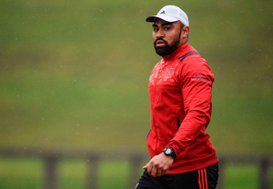 Francis Saili looks ahead to his return to rugby – which he hopes might come against Leinster Picture: Sportsfile