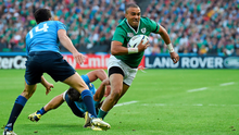 Simon Zebo will start against Italy from full back
