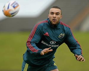 Munster are delighted to have Simon Zebo back and fully fit