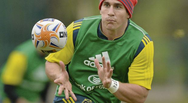 Ian Keatley returned to full training this week after injury