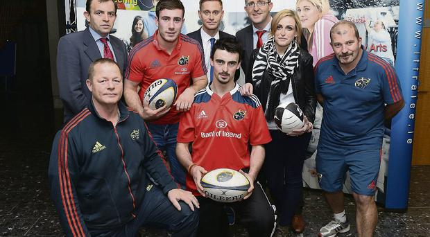 Munster Rugby's JJ Hanrahan pictured at the IT Tralee Launch