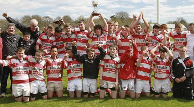 Skibbereen's U15 cup winners from 2012
