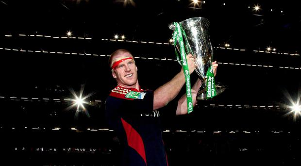 Paul O'Connell lifts the Heineken Cup in 2008 - one of my greatest memories as a Munster fan