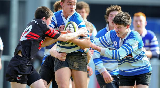 Dungarvan's Patrick Connors in action during last year's Munster Clubs Under 16 Final