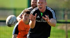 Paul O'Connell will, as always, be leading by example against Edinburgh