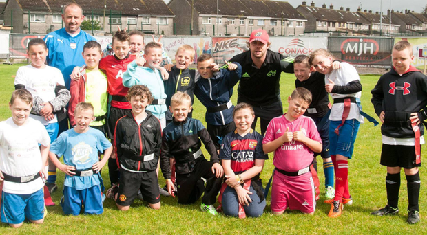 Limerick children at the 'Changing Lives' event