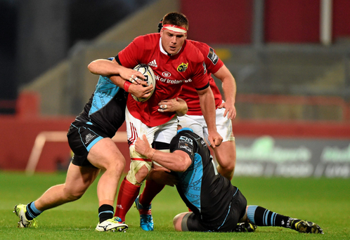 CJ Stander on the charge against Glasgow