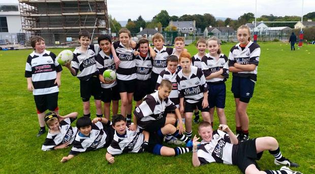 Youngsters involved at Kenmare RFC