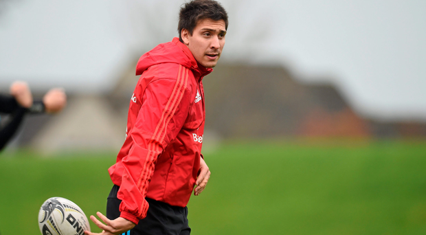 Lucas Gonzalez Amorosino made his first start in a red shirt in the B&I Cup last weekend