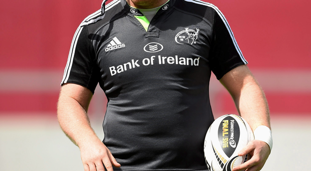 'It's very hard watching when you are not involved,' says injured prop Stephen Archer (SPORTSFILE)