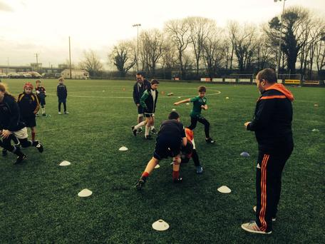 Munster Rugby recently ran a Mini Workshop at Killorglin RFC for the club's Stage 1 coaches.