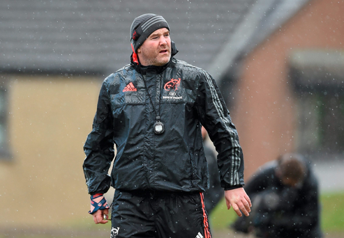 Anthony Foley is targetting a strong finish to the season. Photo: Sportsfile